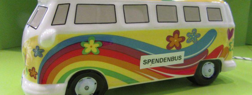 VW Bulli Spendenbus